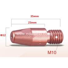 Good Quality for OTC Contact Tip Binzel M10x35 CuCrZr Contact Tip supply to Australia Suppliers